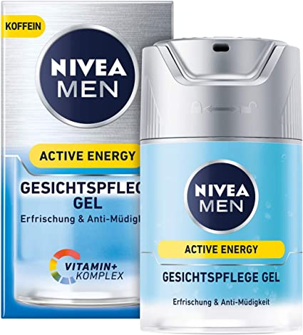 Gel de cuidado facial Nivea Men Active Energy en pack de 1 (1 x 50 ...