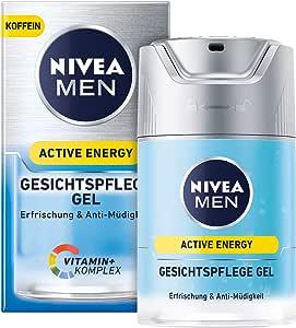 Gel de cuidado facial Nivea Men Active Energy en pack de 1 (1 x 50 ...