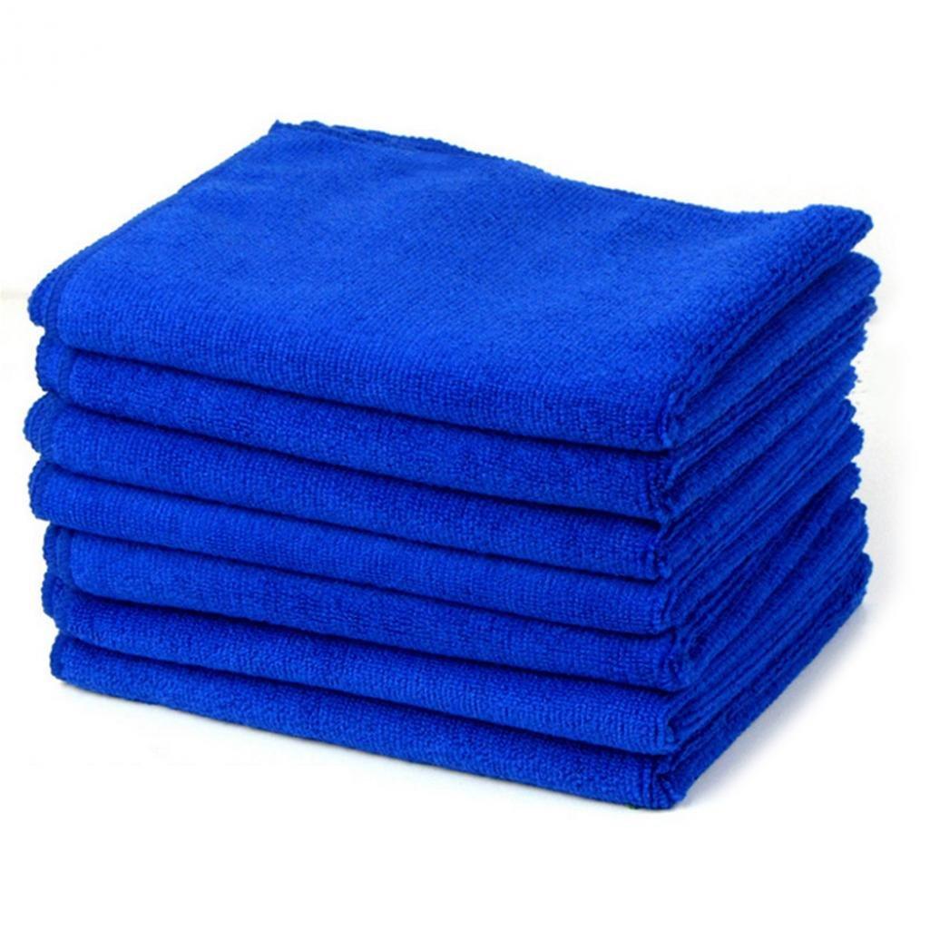 collectsound multiuso acqua assorbente morbido asciugamano in microfibra ad asciugatura rapida autolavaggio, colore blu