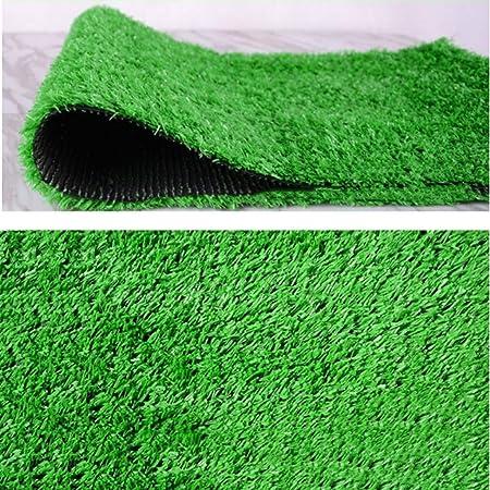 YNFNGXU Alfombra De Césped Artificial Al Aire Libre Fake Grass Mat Verde De Alta Densidad 2x1 M Césped Natural Realista Jardín Césped Mascota Perro Estera (Tamaño : 10x1m): Amazon.es: Hogar