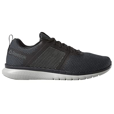 9492f2b7d7 Reebok Men's PT Prime Runner FC Black/True Grey/White Running Shoes ...