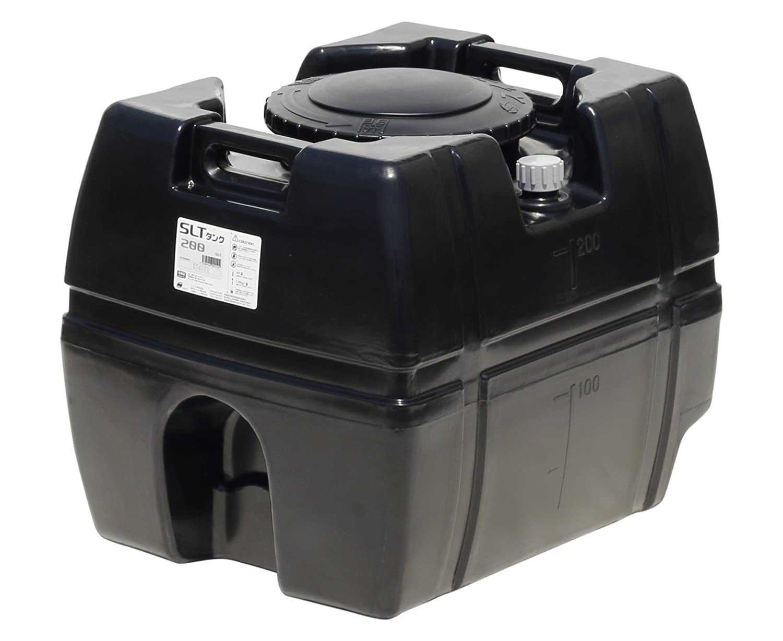スイコー スーパーローリータンク 200L (ブラック) B010LRR1L2 16226