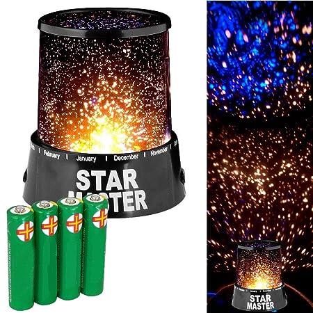 Vinciann lámpara de luz Proyector Estrellas Cielo Estrellado ...