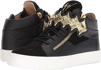 f25e9512b49a Giuseppe Zanotti Mens May London Gold Bar Sneaker