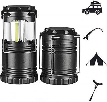 2Pcs carpa playa camping accesorios lampara led Adecuado para toldo caravana iluminacion portatil luces led a pilas,tiendas cocina camping luces de ...