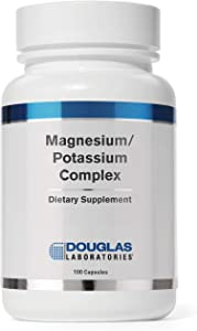 Douglas Laboratories - Magnesium/Potassium Complex - Supports Cardiovascular Health and Skeletal Muscle Contractility - 100 Capsules