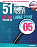 Sam's Extra Large Print Word Search Games, 51 Word Search Puzzles, Volume 5: Brain-stimulating puzzle activities for…