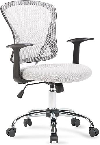 BELLEZE Mesh Back Seat Office Chair Desk Computer Lumbar Support Manager Computer Ergonomic