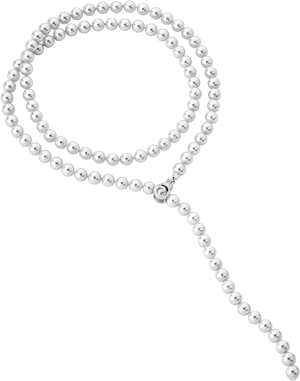 Collar Majorica 13625.01.2.000.010.1 mujer plata perlas