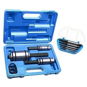 3 Outils élargisseurs de tuyau de pot d'échappement + Jeux extracteur de vis