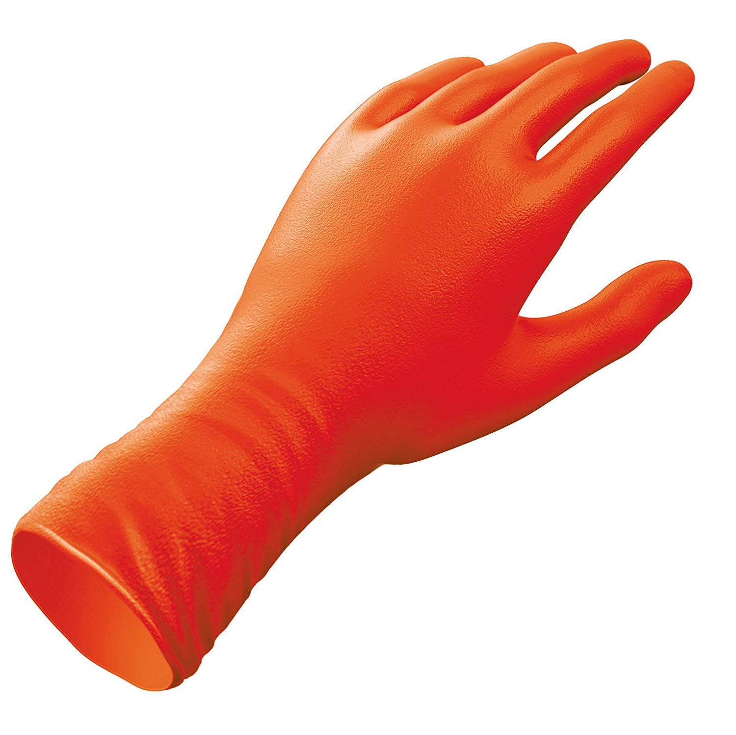 Venom Steel Sportsman Nitrile Gloves with 12 inch Cuff, 6 mil Rip Resistant Field Dressing Gloves, One Size Fits Most (12 Count), Great for use as Game Cleaning Gloves, Fishing, Hunting (Fоur Расk) by Venom Steel (Image #2)