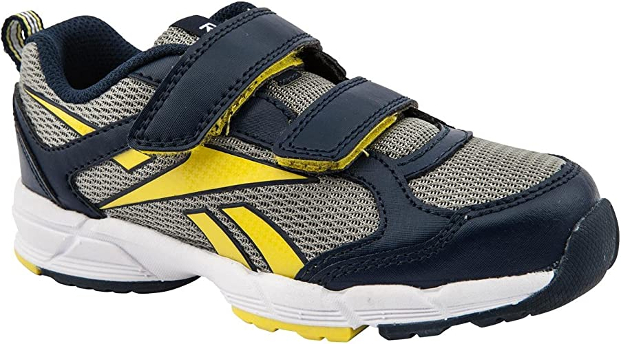 Reebok Almotion Junior niño Azul Marino/Gris/Amarillo Zapatillas ...