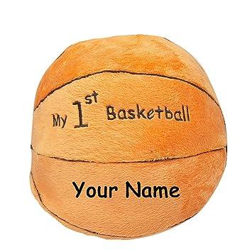 Amazon.com: Pelota de baloncesto personalizada My First con ...