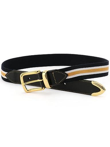 Bridle Leather Surcingle Belt 118-13-1129: Navy Regimental