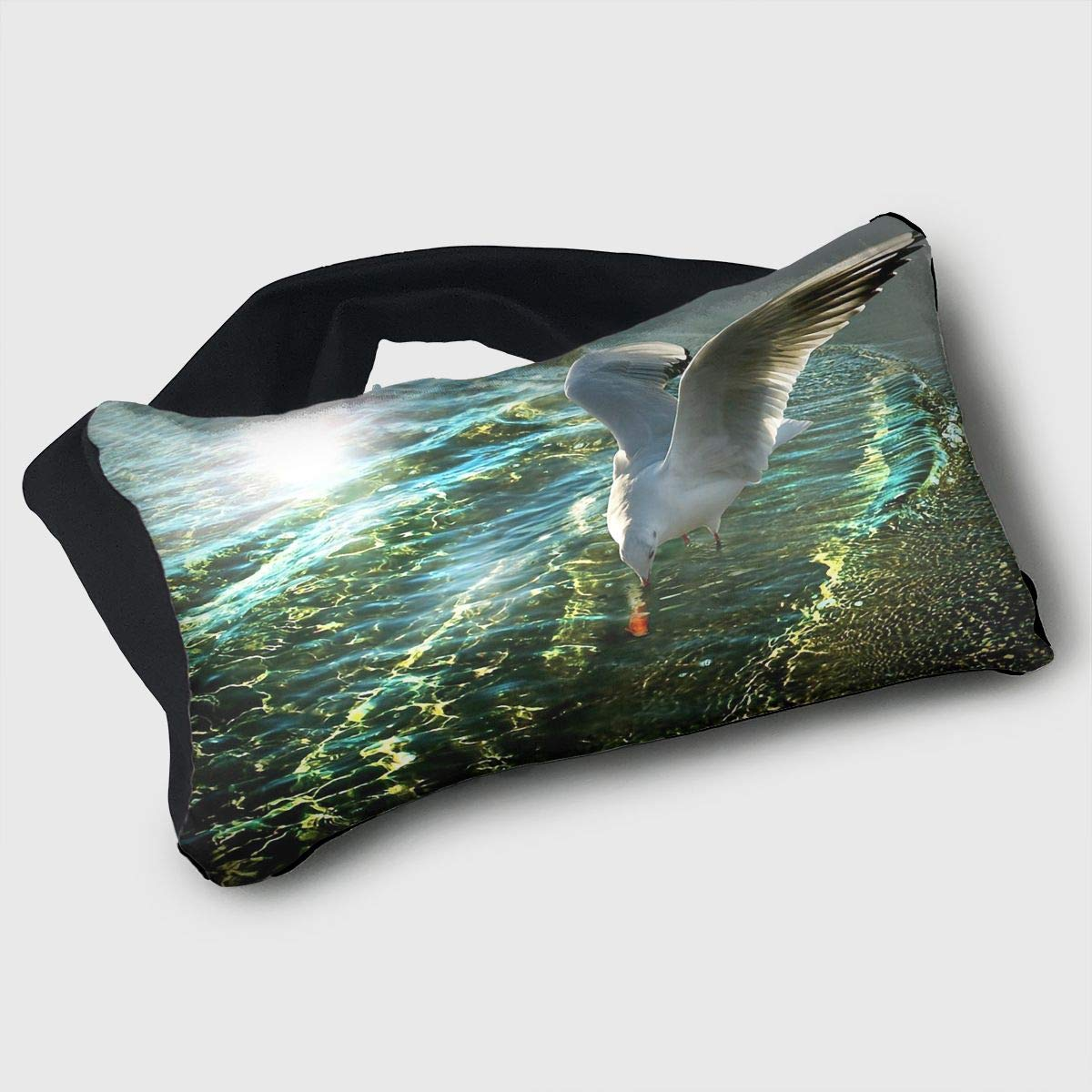 Amazon.com: Eye Mask Eye Pillow Seagull Print Eyeshade ...