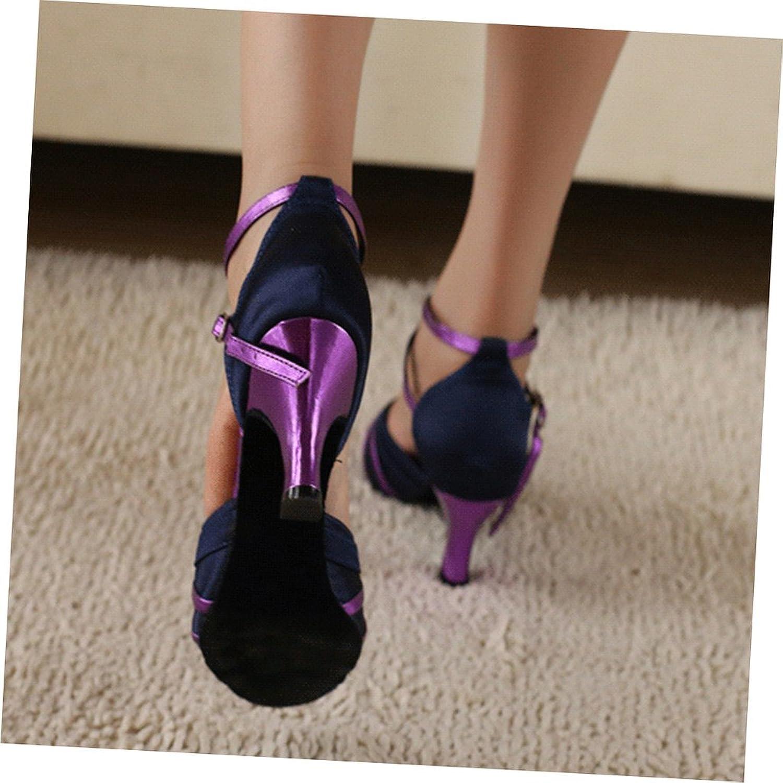 misu - Zapatillas de danza para mujer Multicolor multicolor, color Multicolor, talla 42