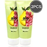 (FRUITS & PASSION) SHOWER GEL [PEAR PEONY] 200ML 2 pcs Bundle, Shower Gel with vitamin E and Antioxidant product…
