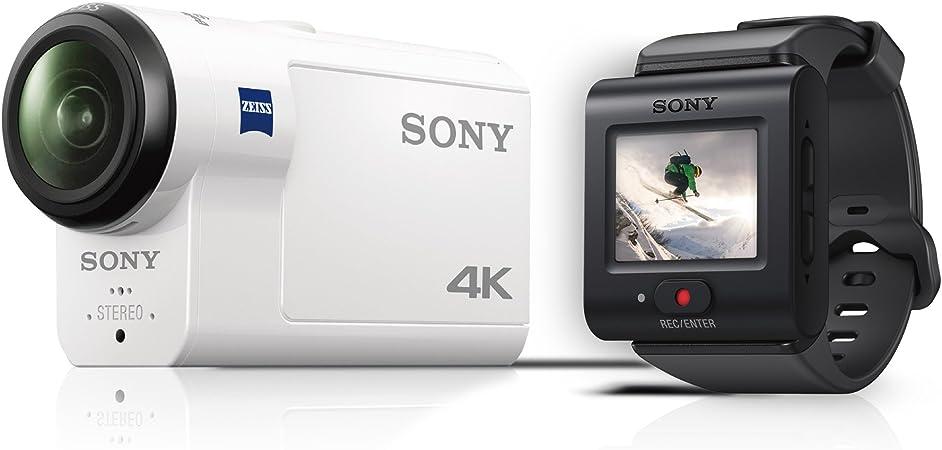 Sony Action CAM FDR-X3000R - Videocámara (4K, tecnología Balanced ...