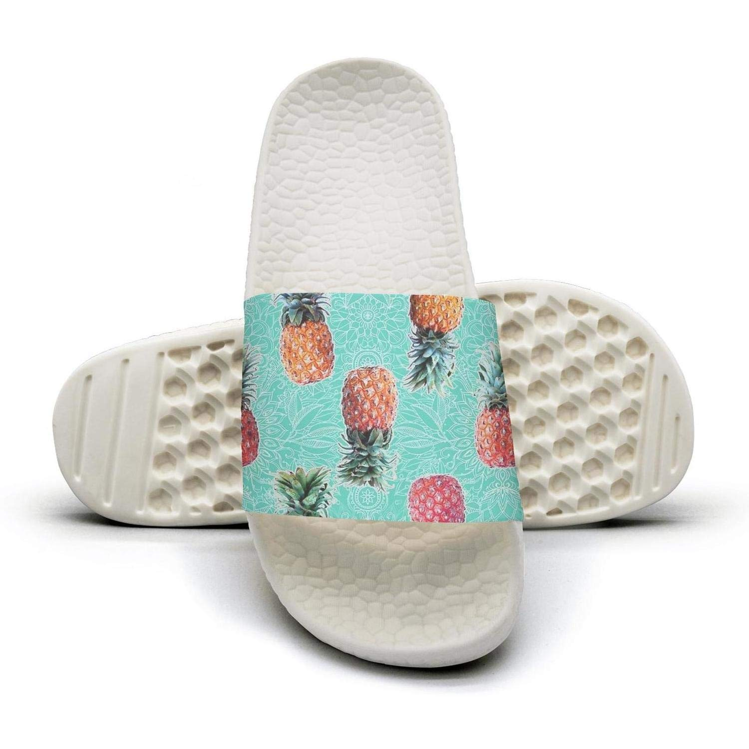 WooWe Mens Fashion Slippers Sandals Casual Pineapple Cat Avocado Watermelon