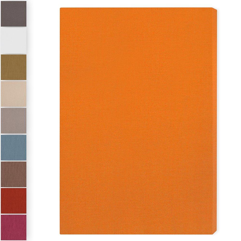 Schallabsorber'Brushed Pro L': 116 * 78 * 6.5cm, Orange WASCHBAR RaiWai Acoustics