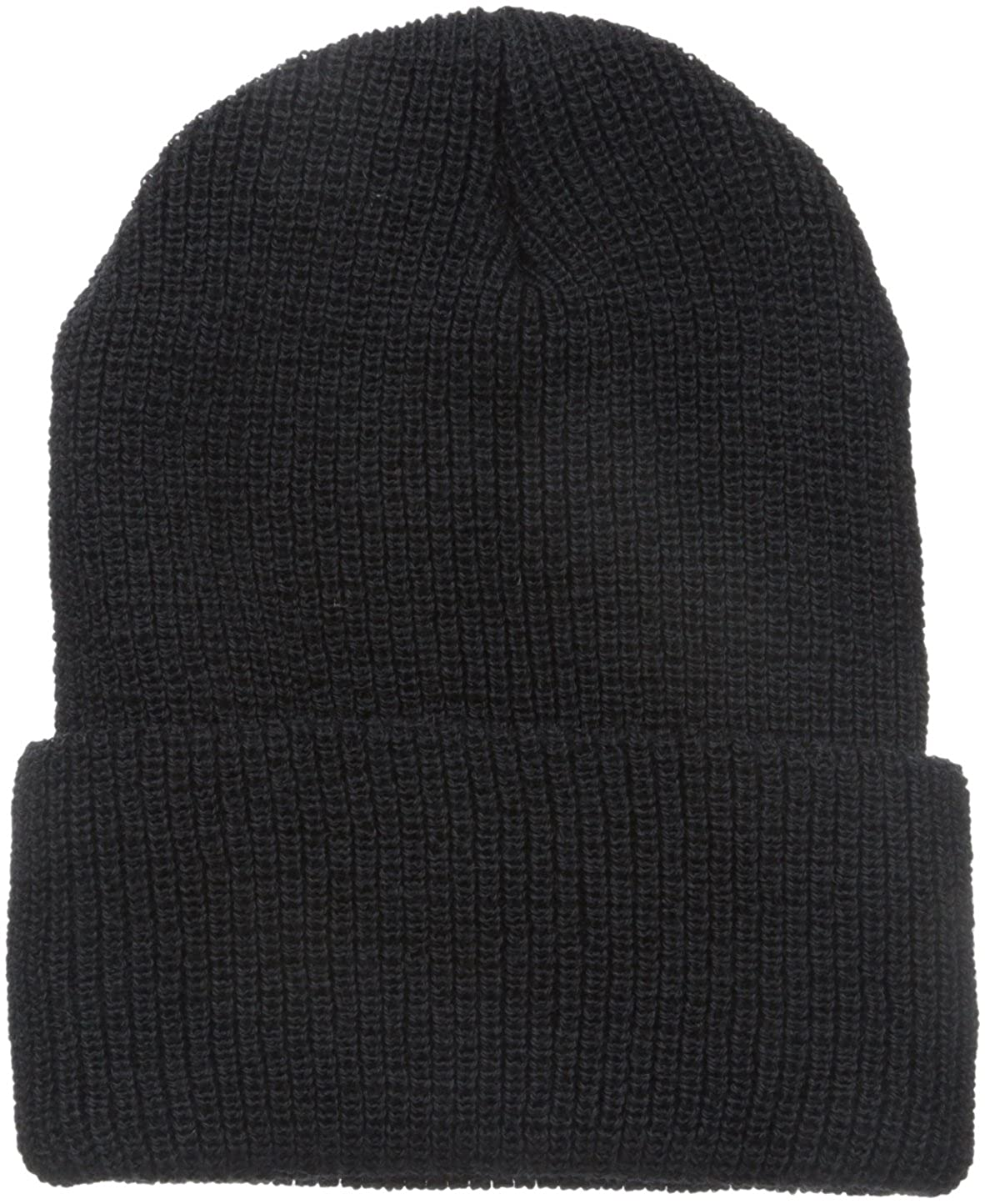 742612ac704e1 Worsted wool warmth and durability in a knit classic rolled cuff watch cap.  Proven fit and reliable durability. Once size fits all