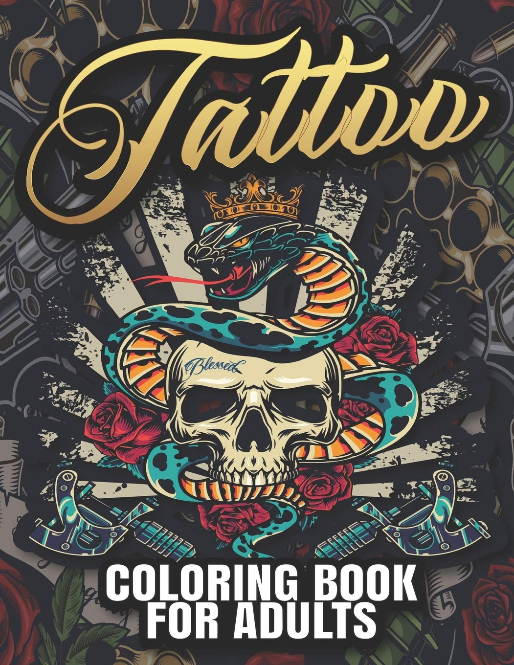 16 Pics Of Rose And Skulls And Hearts Coloring Pages - Skull With ... | 1360x1051