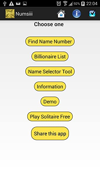 Amazon com: Numerology Calculator Numsiii: Appstore for Android