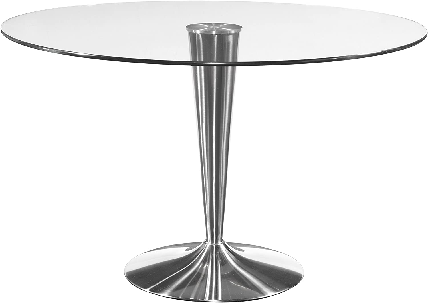 Bassett Mirror Concorde Dining Table, Chrome