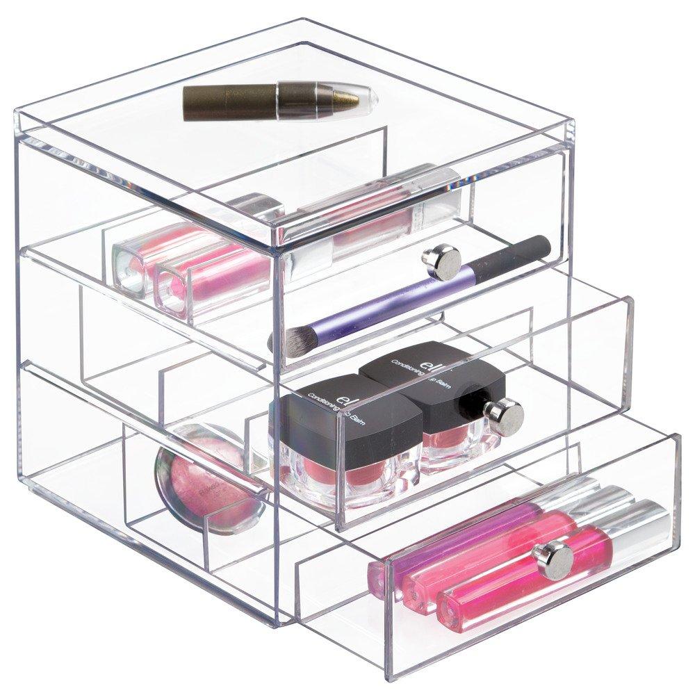 Amazon.com: InterDesign Drawers Caja para guardar gafas | Caja organizadora apilable para gafas, gafas de lectura y gafas de sol | Caja para gafas con 3 ...