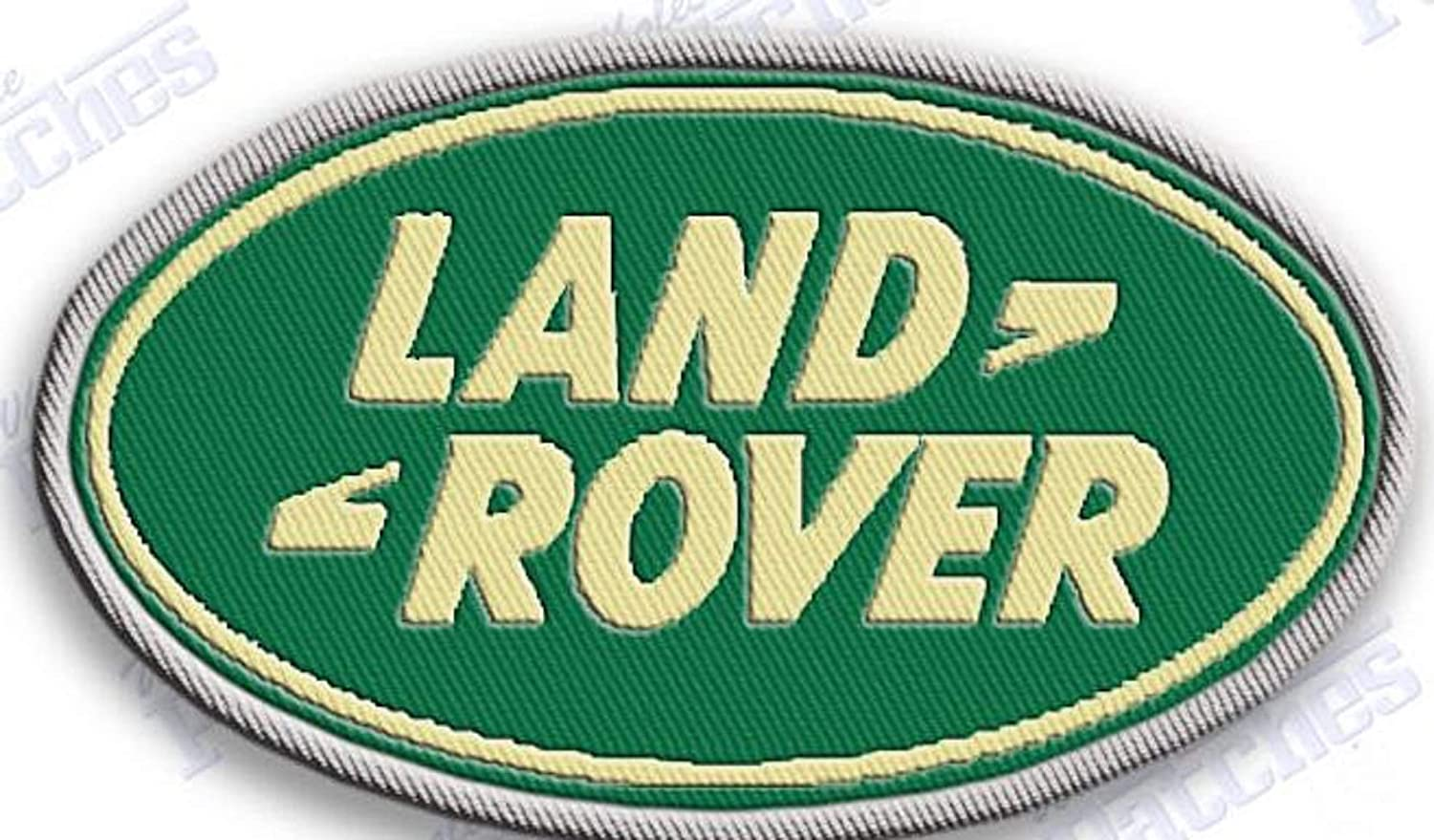 SIZE 2.3 X 1.7 /… EMBROIDERY 100/% CARS AUTOS AUTOMOBILE RANGE RACING LAND ROVER IRON ON EMBROIDERED PATCH PATCHES /…