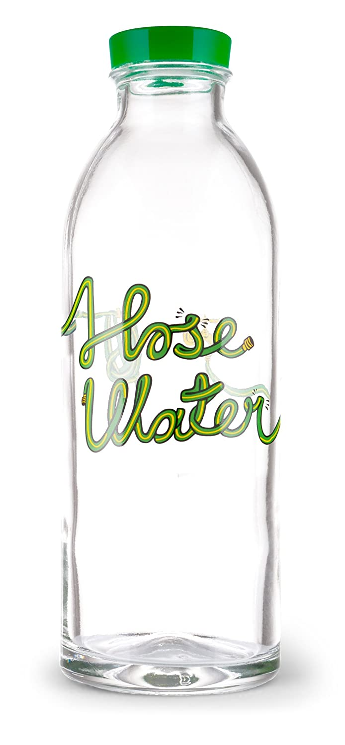 Amazon.com: Hose Water Reusable Glass Water Bottle By Faucet Face ...