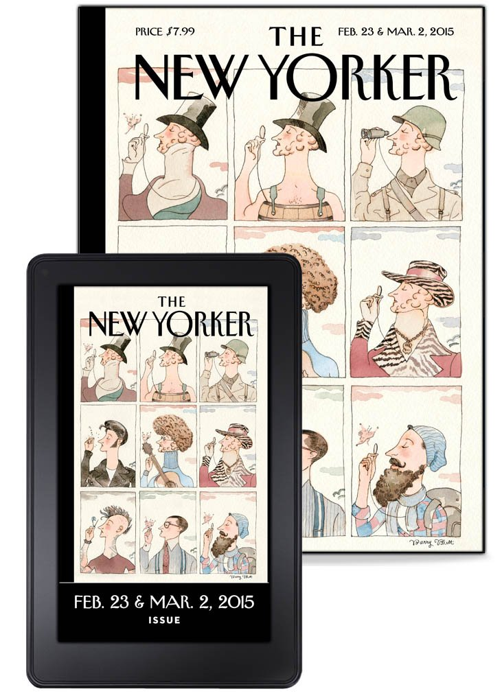 the new yorker kindle edition condé nast books cartoons culture