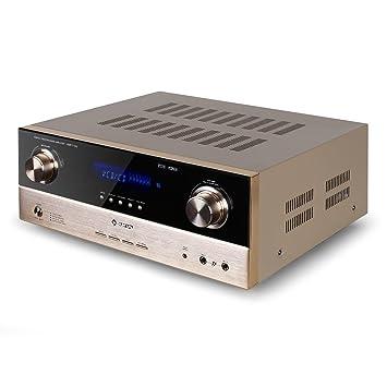 Auna AMP-7100 Amplificador 7.1 Sonido Envolvente • 2000 W • Entradas: 1 Entrada