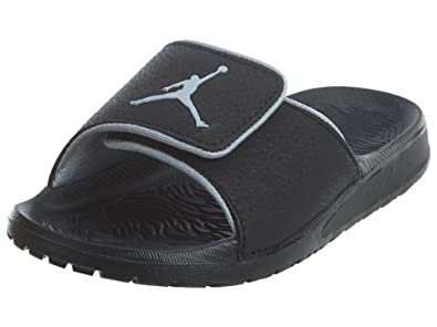 free shipping f34e1 14f2b Jordan Hydro 6 BP Little Kid's/Preschool Slides Black/Wolf Grey 881476-011  (13 M US)