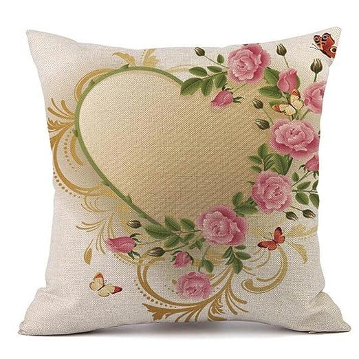 Día de San Valentín funda de almohada, paymenow Throw Cojín ...