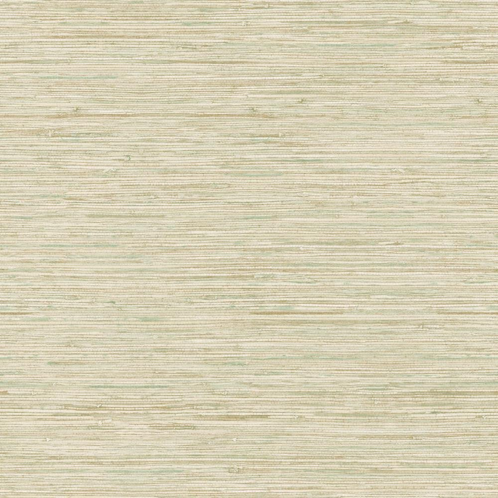 8-Inch x 10-Inch Cream Taupe York Wallcoverings WB5502SMP Nautical Living Horizontal Grasscloth Wallpaper Memo Sample Beige Gold Vein