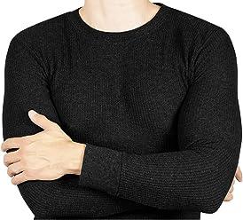 66538e3bce4 Joe Boxer Thermal Crew Tops - Base Layer Shirt - Long Sleeve Undershirt