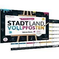 DENKRIESEN - Stadt Land VOLLPFOSTEN® - Picasso Edition - 'Mal Stadt Land FLUSS ZUM MALEN'