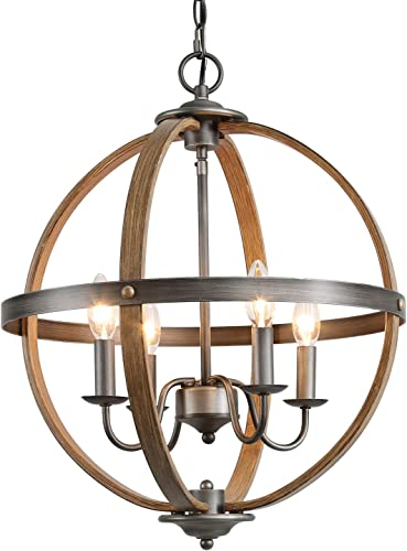 KSANA Farmhouse Chandelier