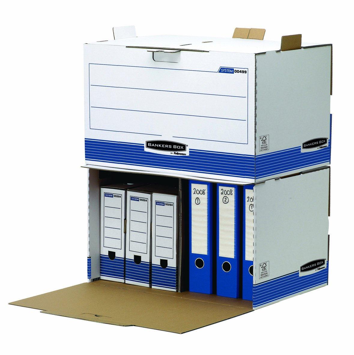 Bankers Box 0023702 R-Kive Prima Scatola Archivio Legal, 6 Pezzi Fellowes