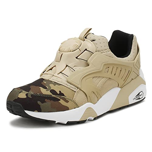 777322a85e6 Puma Men s Disc Blaze Camo Safari White Running Shoes-10 UK India (44.5