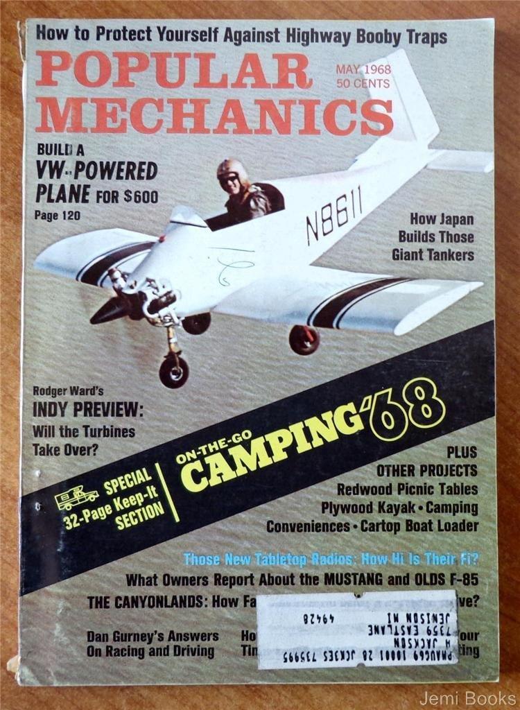 Popular Mechanics Magazine May Build A VWPowered Plane For - Popular mechanics picnic table