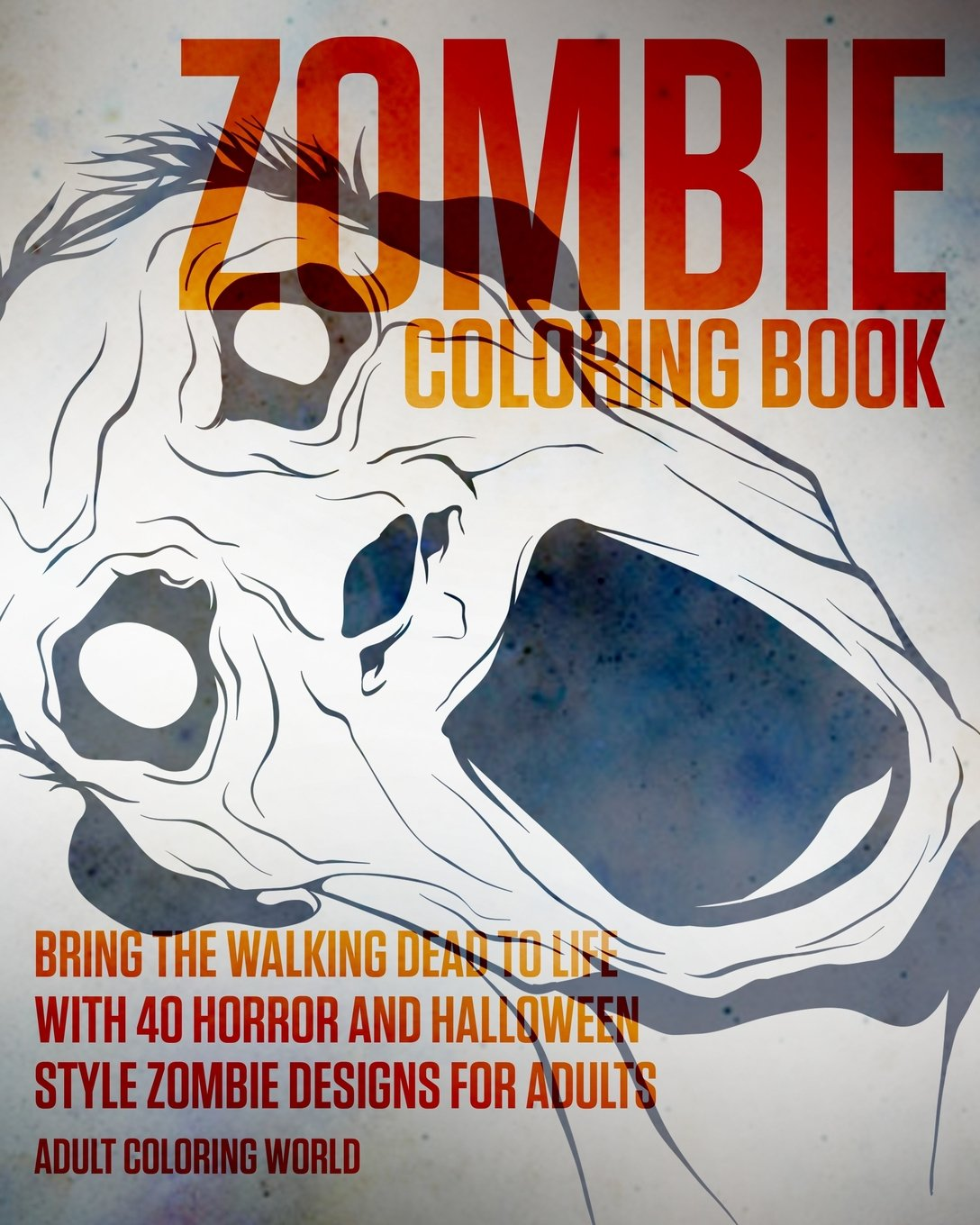 amazon com zombie coloring book bring the walking dead to life