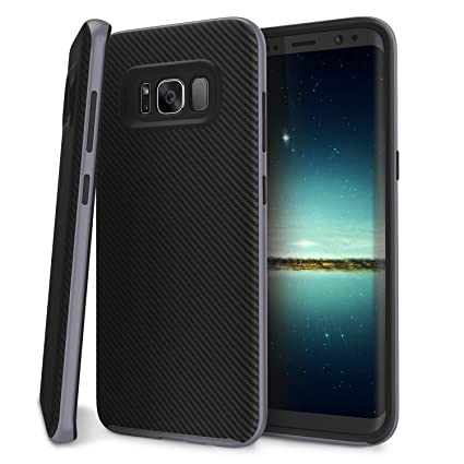 buy popular 33d1c 7ff30 Galaxy S8 Plus Case, BASSTOP PREMIUM BUMPER Style Dual Layer Premium Case  Slim Fit Heavy Duty Protective Cover for Samsung Galaxy S8 Plus 6.2 inch ...