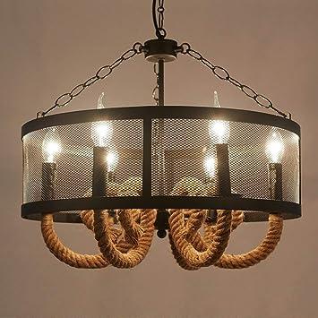 XQY Araña doméstica, lámpara de Techo de Cristal Palacio ...