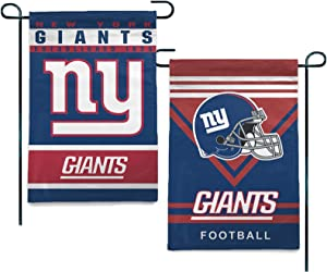 Stockdale New York Giants Garden Flags American Football House Yard Decoration 12.5x18 Inch