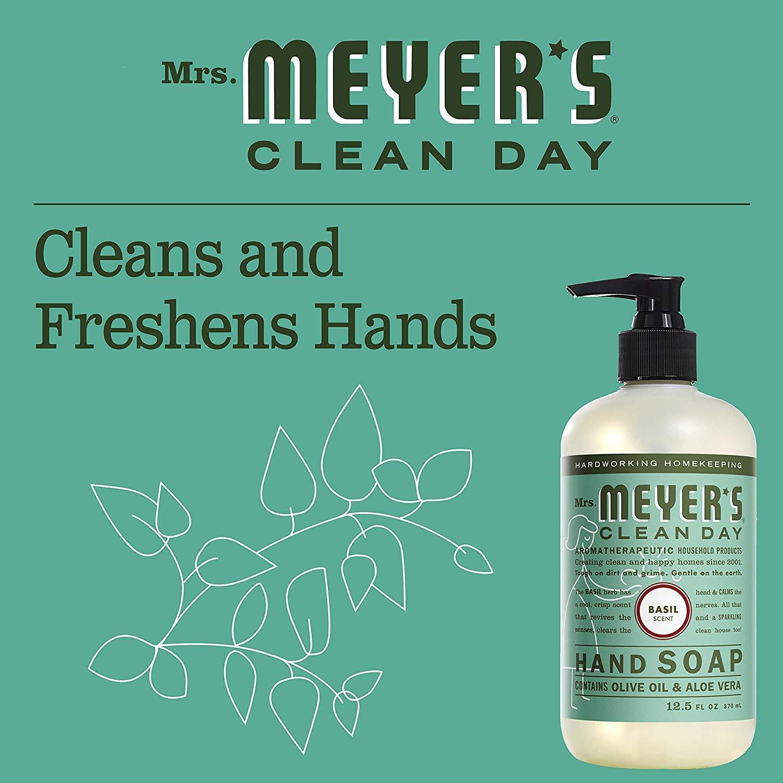 9752e78ae393 Mrs. Meyer's Clean Day Hand Soap, 370ml, Basil
