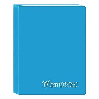 Pioneer álbumes de Fotos i-46m/BL 36Bolsillos Hold Recuerdos Mini álbum de Fotos, Azul, 4'x 6' 4x 6 Pioneer Photo Albums I-46M/BL