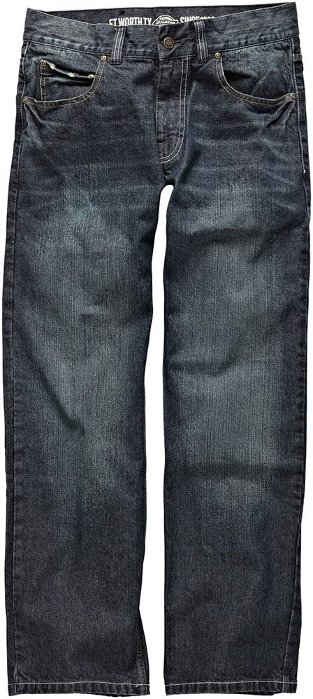 Dickies 22 Mens Boston Workwear Jeans Denim Blue WD1000D