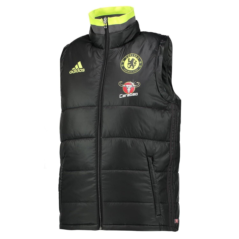 Adidas CFC Pad Vest - schwarz Granite solar Yellow